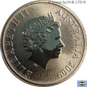 1 dollar Tasmanie -  avers