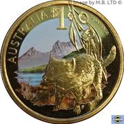 1 dollar Tasmanie -  revers