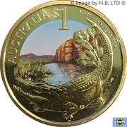 1 dollar Territoire du Nord -  revers