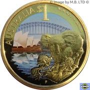 1 dollar Nouvelle-Galles du Sud – revers