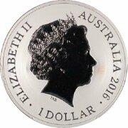 1 Dollar - Elizabeth II (4th Portrait - Sydney New Years Eve) -  avers