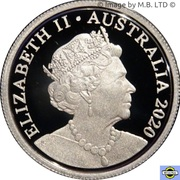 5 Cents - Elizabeth II (6th portrait - Fine Silver Proof) -  avers