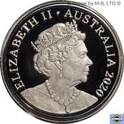 2 Dollars - Elizabeth II (6th portrait - Silver Proof) -  avers
