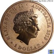 1 Dollar - Elizabeth II (4th Portrait - Year of the Dog) -  avers