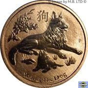 1 Dollar - Elizabeth II (4th Portrait - Year of the Dog) -  revers
