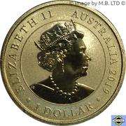 1 Dollar - Elizabeth II (6th Portrait - Welcome Stranger) -  avers