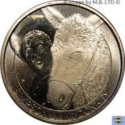 1 Dollar - Elizabeth II (4th Portrait - Gallipoli - Simpson and his Donkey) -  revers