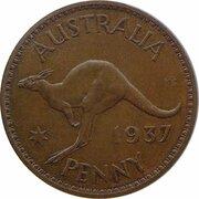 1 penny - Edward VIII (Essai) -  revers