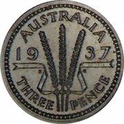 3 pence - Edward VIII (Essai) – revers