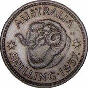 1 shilling - Edward VIII (Essai) -  revers