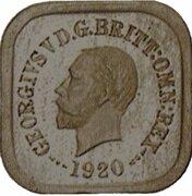 1 Penny - George V (Kookaburra Pattern - Type 8) – avers