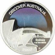 1 Dollar - Elizabeth II (4th Portrait - Discover Australia - Sydney) – revers