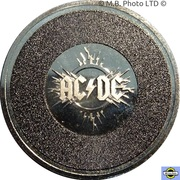 20 Cents - Elizabeth II (6th Portrait - AC/DC - 45th Anniversary) -  revers