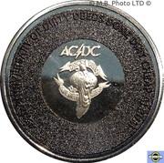 20 Cents - Elizabeth II (6th Portrait - AC/DC - Dirty Deeds Done Dirt Cheap) -  revers