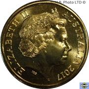 1 Dollar - Elizabeth II (4th portrait) Coral Sea -  avers