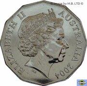50 Cents - Elizabeth II (4ème effigie) -  avers