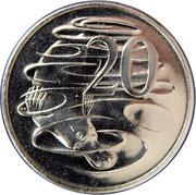 20 cents - Elizabeth II (4ème effigie) -  revers