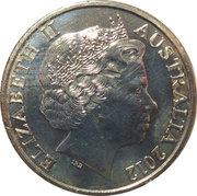 20 Cents - Elizabeth II (Wheat Fields of Gold) – avers