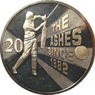 20 Cents - Elizabeth II (Ashes Cricket Since 1882) – revers