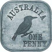1 Penny - George V (Kookaburra Pattern - Type 6a) – revers