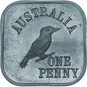 1 Penny - George V (Kookaburra Pattern - Type 5a) – revers
