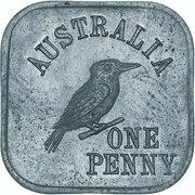 1 Penny - George V (Kookaburra Pattern - Type 4a) – revers