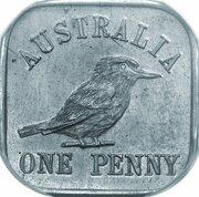 1 Penny - George V (Kookaburra Pattern - Type 12a (Renniks 11a)) – revers