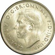 1 Florin - George VI – avers