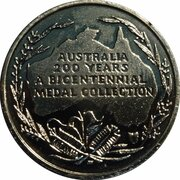 Australia 200 Years Medal Collection (The Eureka Stockade) -  revers