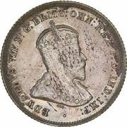 6 Pence - Edward VII – avers