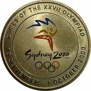 Token - Sydney 2000 Olympics Games Emblem -  avers