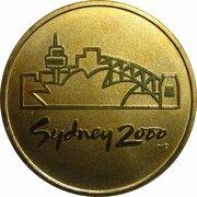 Token - Sydney 2000 Olympics Games Emblem -  revers