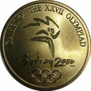 Sydney Olympics (Olly - Basketball) -  avers