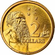 2 dollars - Elizabeth II (3e effigie) -  revers