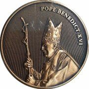 World Youth Day (Pope Benedict - Holding Crosier) – avers
