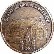 Medal - Saint Mary MacKillop (The Schoolhouse) – avers