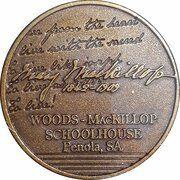 Medal - Saint Mary MacKillop (The Schoolhouse) – revers