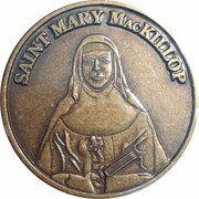 Medal - Saint Mary MacKillop (The Saint) – avers