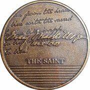 Medal - Saint Mary MacKillop (The Saint) – revers