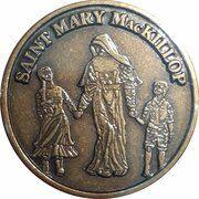 Medal - Saint Mary MacKillop (The Educator) – avers