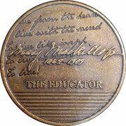 Medal - Saint Mary MacKillop (The Educator) – revers