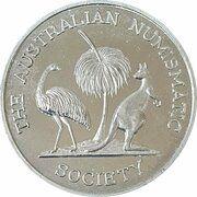Medal - Australian Numismatic Society (Rockhampton Capricana Festival) – avers