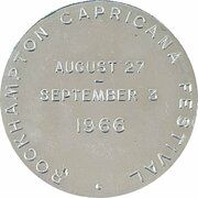 Medal - Australian Numismatic Society (Rockhampton Capricana Festival) – revers