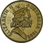 Token - 1 Dollar Mob of Roos (Play Money) – avers