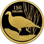 150 Dollars - Elizabeth II (Rare Birds - Malleefowl) -  revers