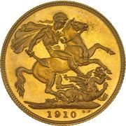 1 Sovereign - Edward VII – revers