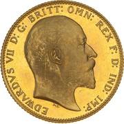 1 Sovereign - Edward VII – avers
