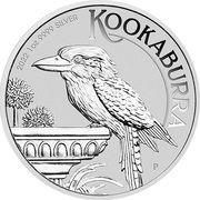 1 Dollar - Elizabeth II 6th Portrait - Australian Kookaburra – revers
