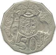 50 Cents - Elizabeth II (2ème effigie ; type dodécagonal) -  revers