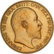 5 Pounds - Edward VII (Coronation) – avers